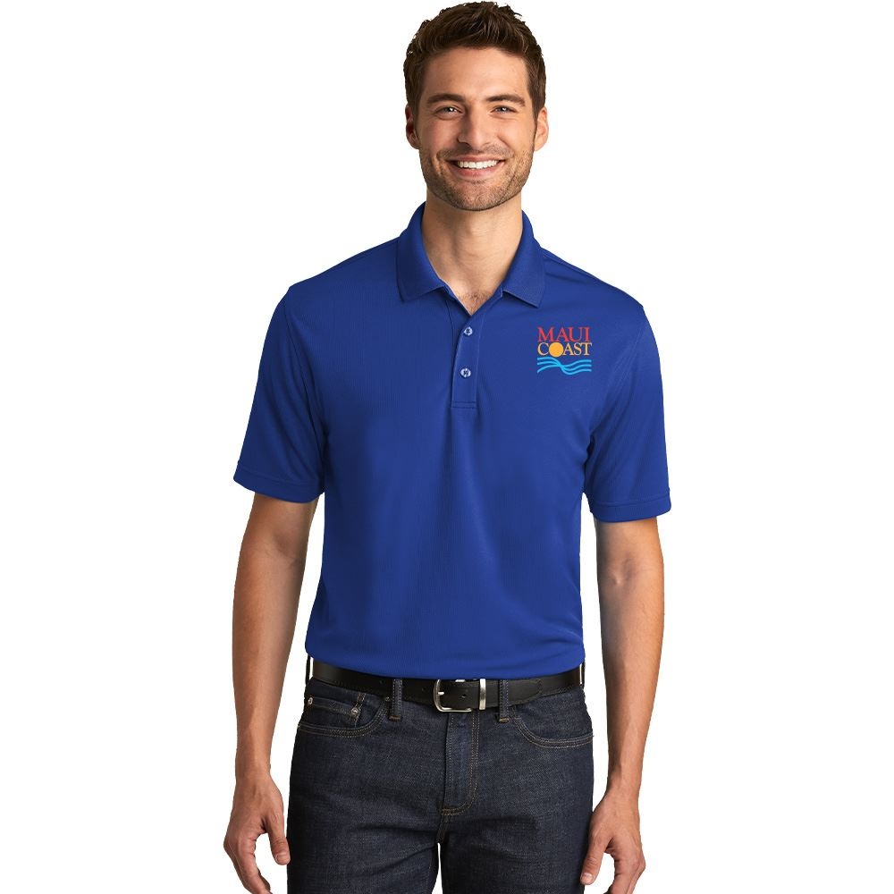 Port Authority® Dry Zone® Men's UV Micro-Mesh Polo - Personalization Available