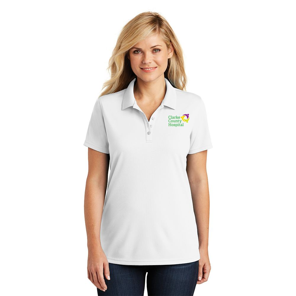 Port Authority® Dry Zone® Women's UV Micro-Mesh Polo - Embroidered Personalization Available