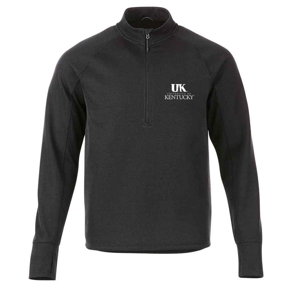 Elevate® Men's Crane Knit Half Zip - Heat Transfer Personalization Available
