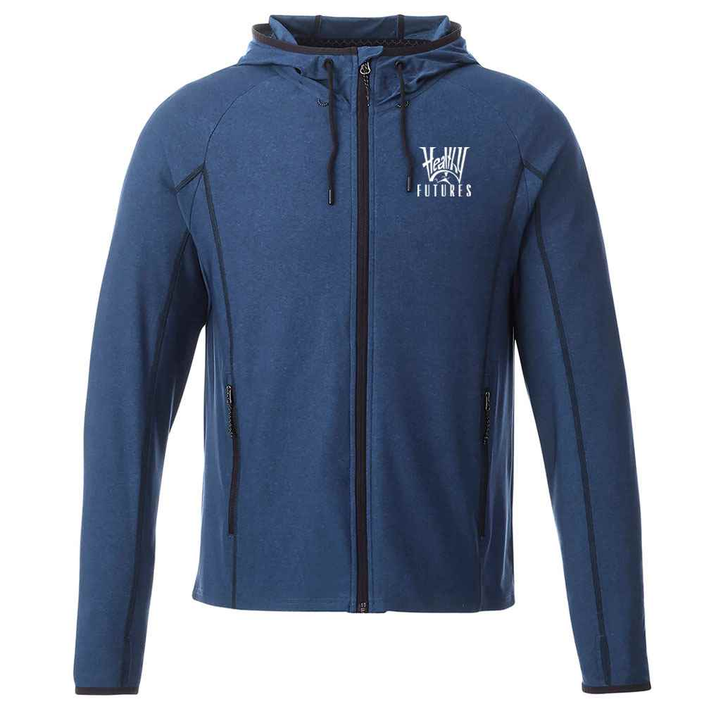 Elevate® Men's Kaiser Knit Jacket - Heat Transfer Personalization Available
