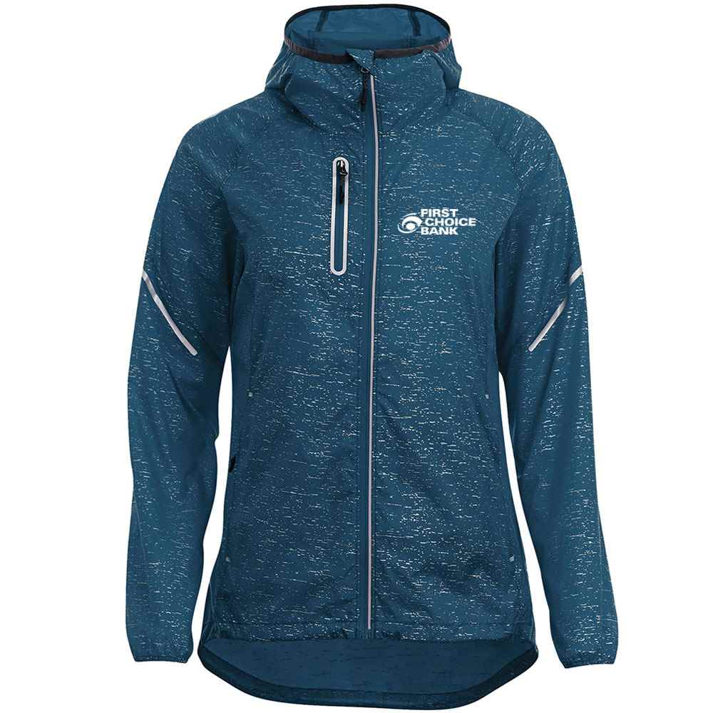 Elevate® Women's Signal Packable Jacket - Heat Transfer Personalization Available