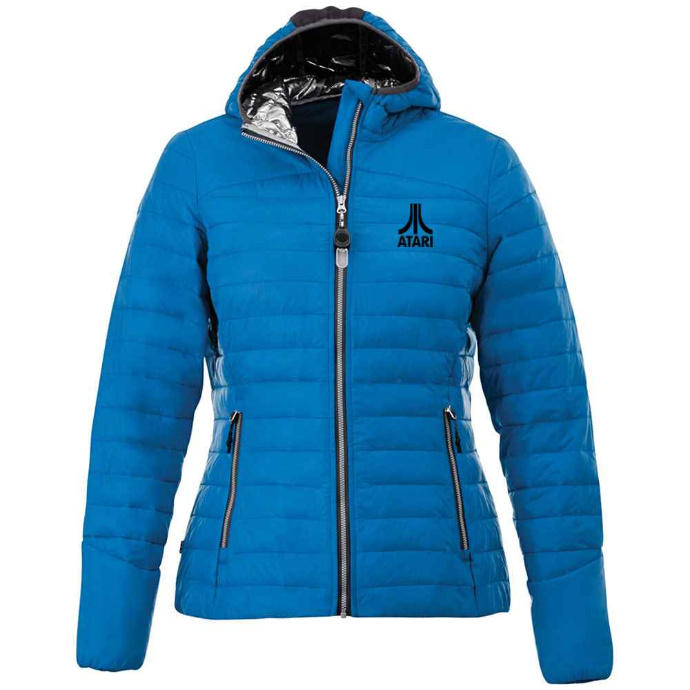 Elevate® Women's Silverton Packable Insulated Jacket - Heat Transfer Personalization Available