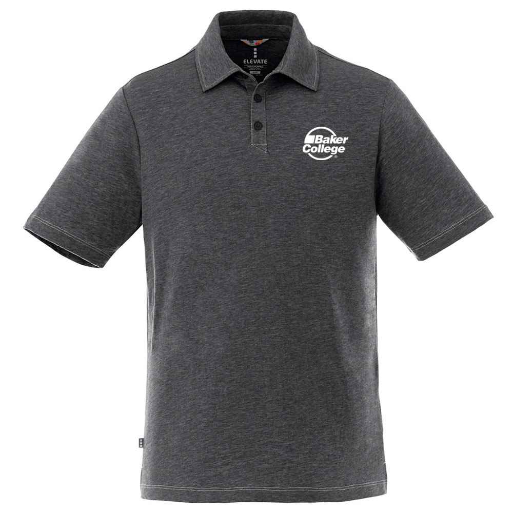 Elevate® Men's Tipton Short Sleeve Polo Shirt - Heat Transfer Personalization Available