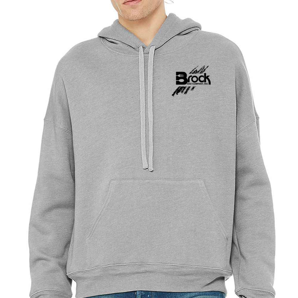Balla + Canvas® Unisex Sponge Fleece Pullover DTM Hoodie - Personalization Available