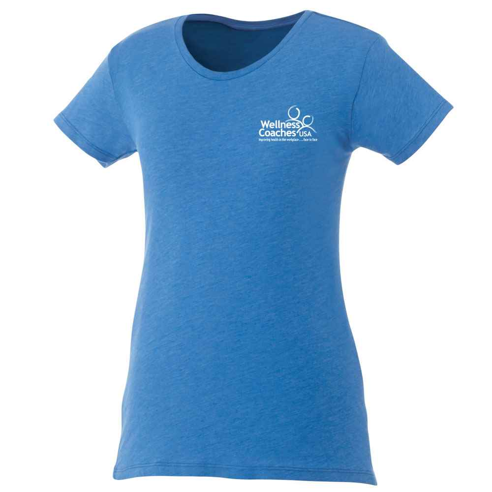 Elevate® Women's Bodie Short Sleeve T-Shirt - Heat Transfer Personalization Available