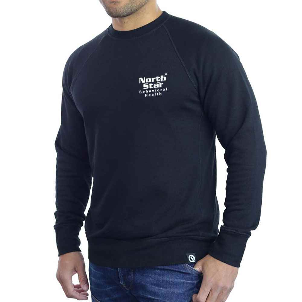 Quikflip® Convertible Crewneck Sweatshirt - Personalization Available