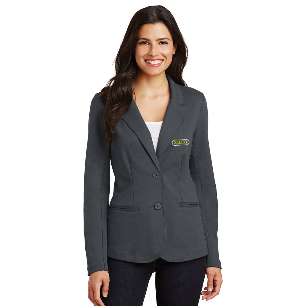 Port Authority® Ladies Knit Blazer - Embroidered Personalization Available