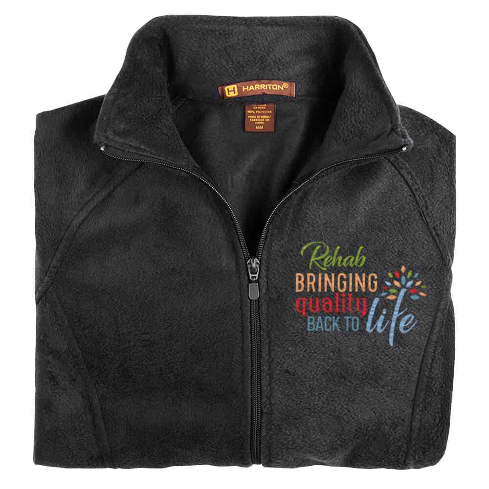 Rehab: Bringing Quality Back To Life Women's Harriton® Fleece Full-Zip Jacket - Personalization Available
