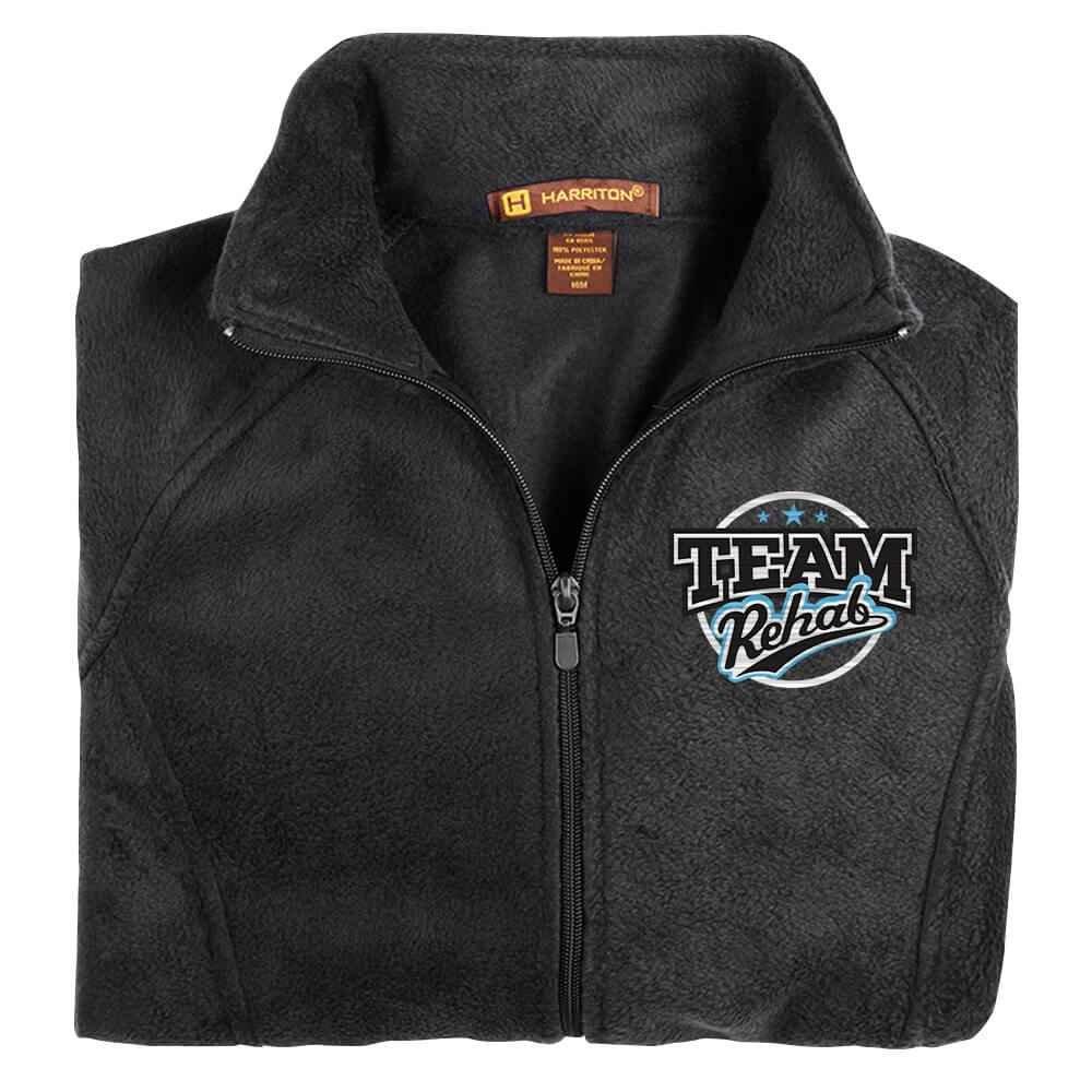 Team Rehab Women's Harriton® Fleece Full-Zip Jacket - Personalization Available