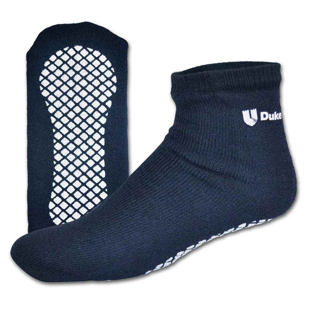 Cotton Footie Ankle Sock With Tread - Personalization Available