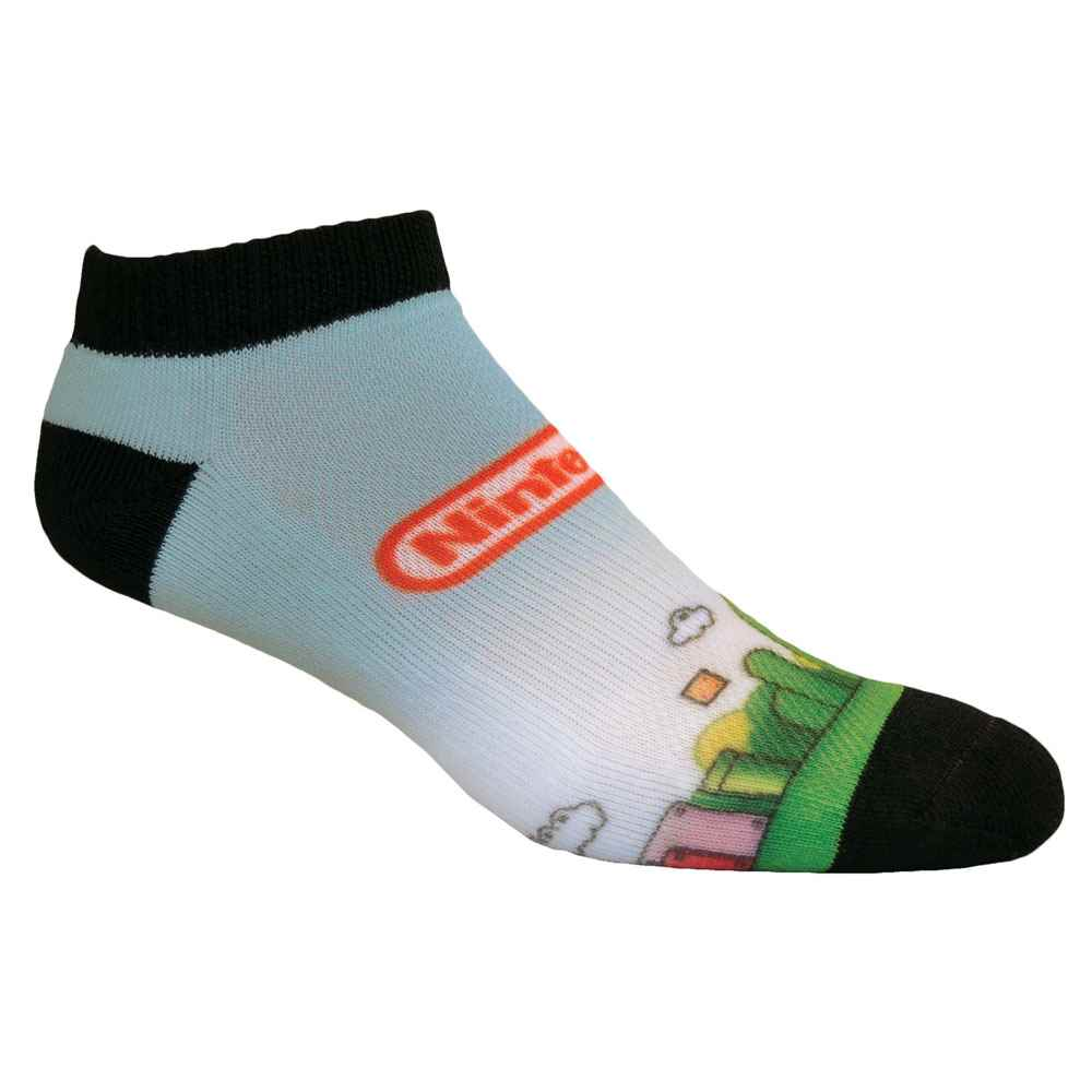 Athletic Low-Cut Sock With Digital Printing Personalization