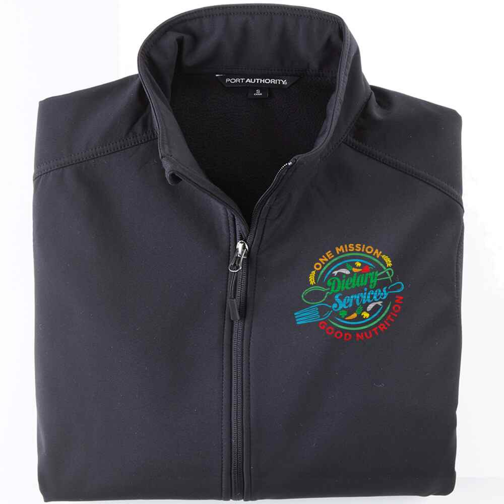 Dietary Services: One Mission, Good Nutrition Port Authority® Core Soft Shell Jacket - Personalization Available