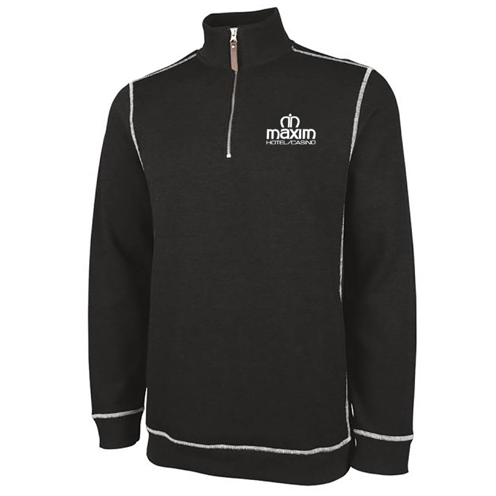 Charles River Apparel® Men's Conway Flatback Rib Quarter-Zip Pullover - Personalization Available