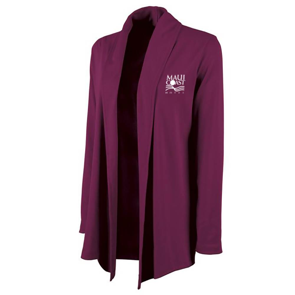 Charles River Apparel® Women's Cardigan Wrap Sweater - Personalization Available