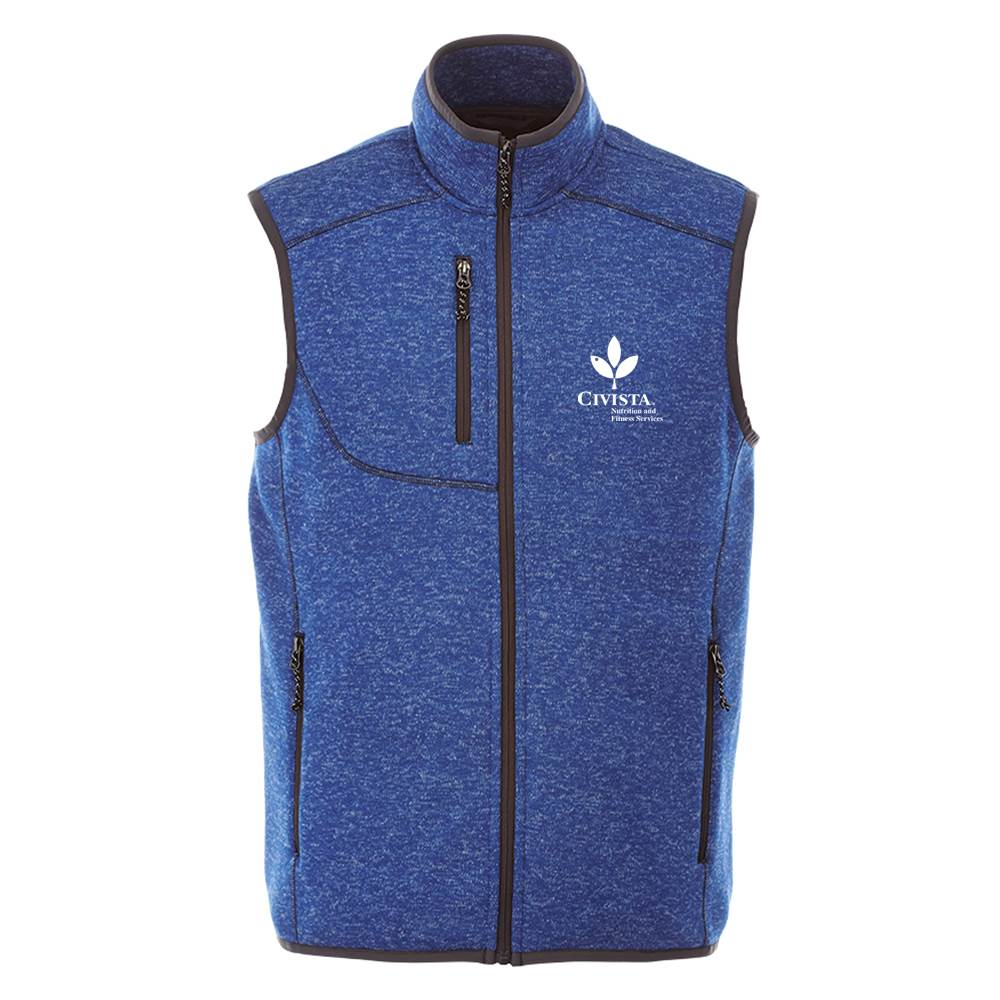 Elevate® Men's Fontaine Knit Vest - Personalization Available
