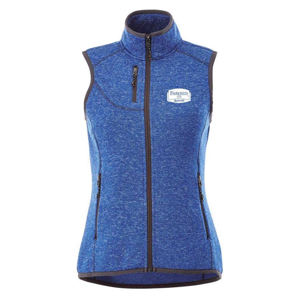 Elevate® Women's Fontaine Knit Vest - Personalization Available