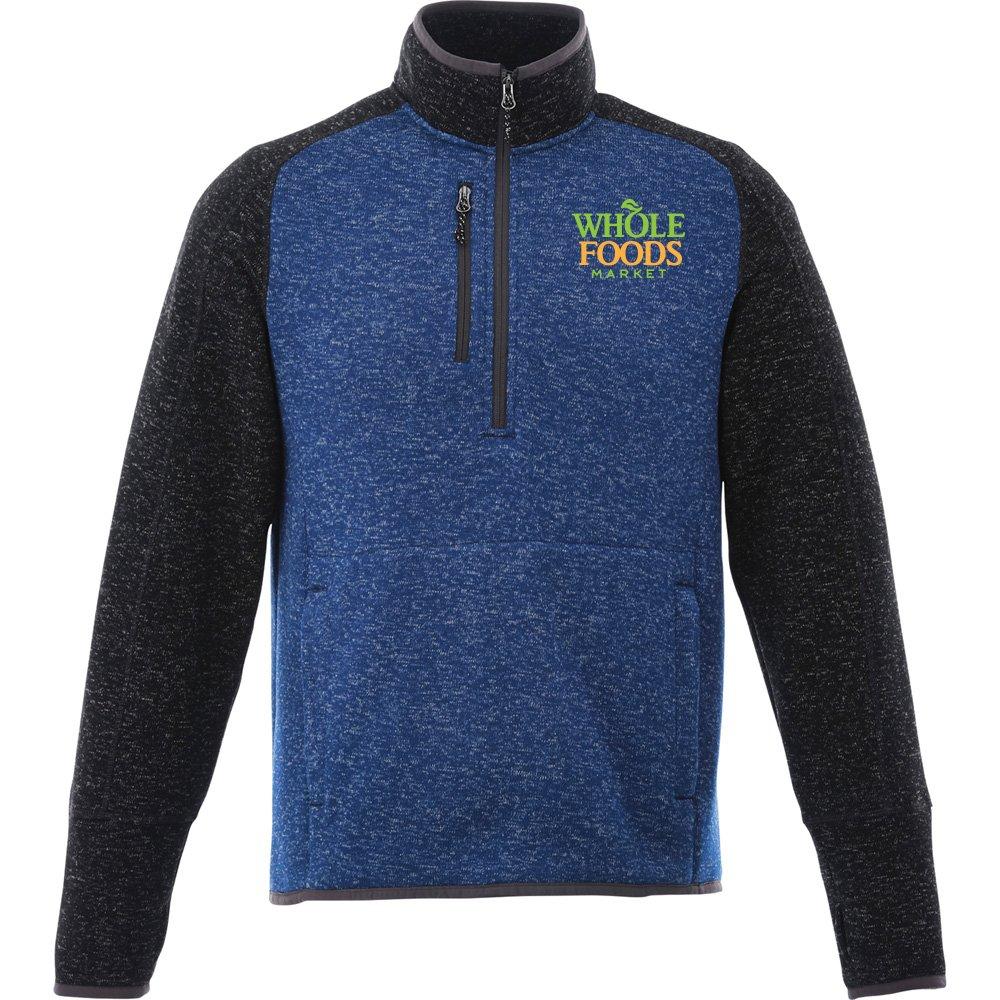 Elevate® Men's Vorlarge Half-Zip Knit Jacket - Personalization Available