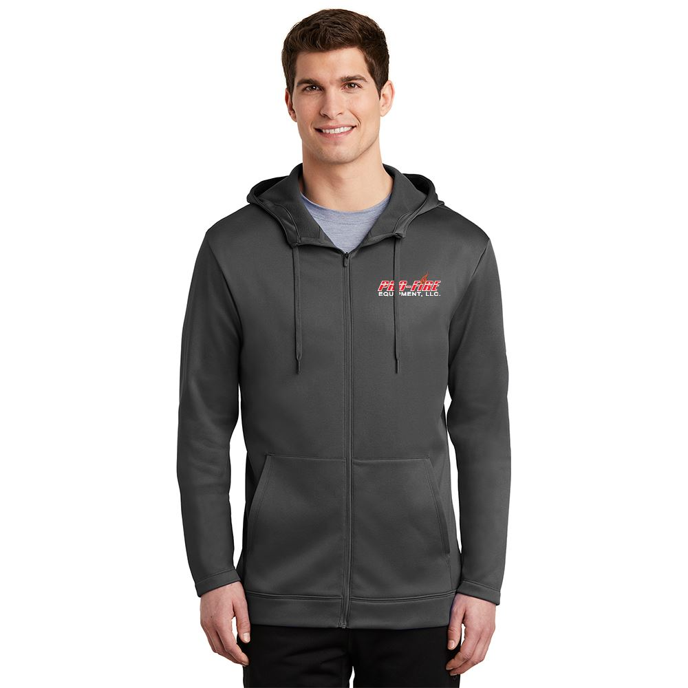 Nike® Men's Therma-FIT Full-Zip Fleece Hoodie - Personalization Available