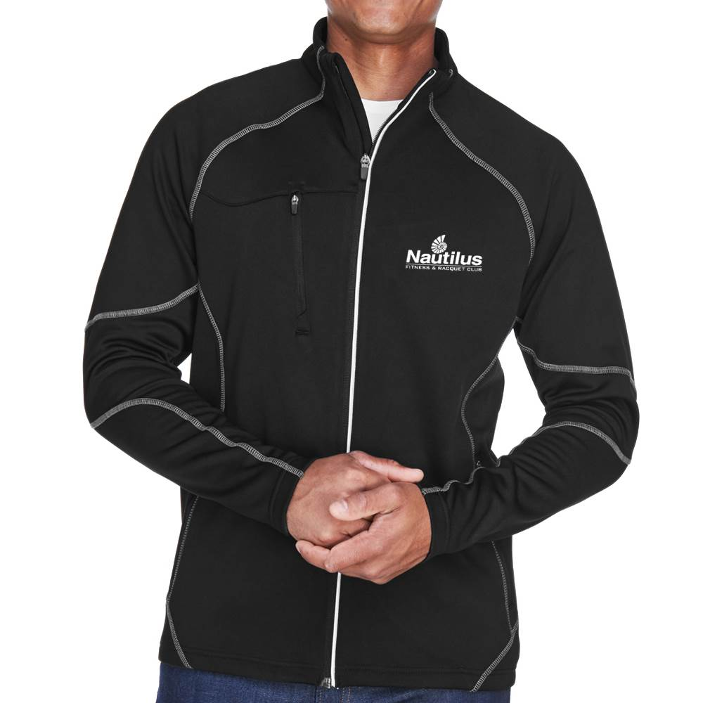 North End® Men's Gravity Performance Fleece Jacket - Personalization Available