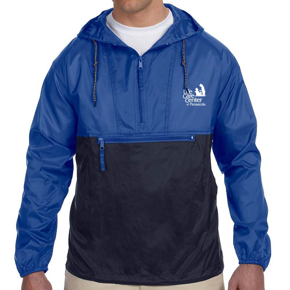 Harriton® Packable Nylon Jacket - Personalization Available