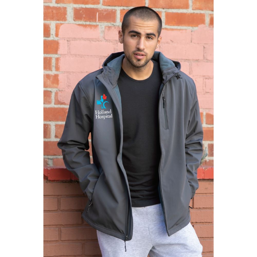 Independent Trading® Poly-Tech Water-Resistant Soft Shell Jacket -Embroidery Personalization Available