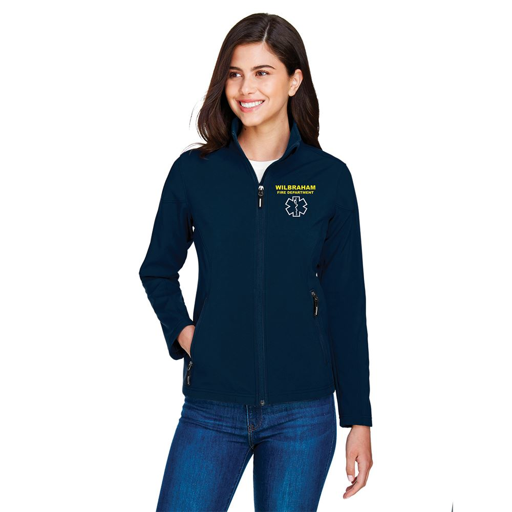Core 365® Women's Cruise Fleece Bonded Soft Shell Jacket - Personalization Available