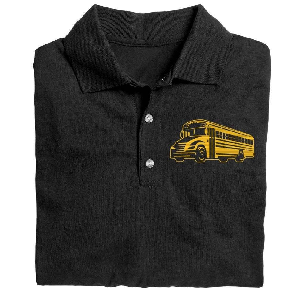 School Bus  Gildan® DryBlend Jersey Polo - Personalization Available