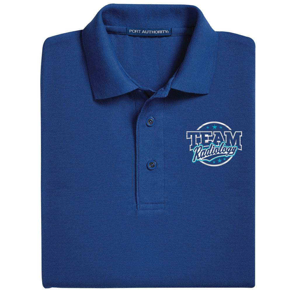 Team Radiology Port Authority® Silk Touch Polo - Personalization Available