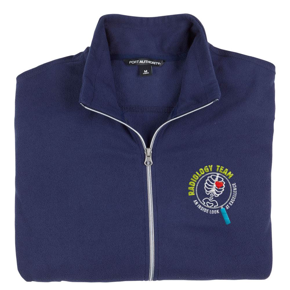Radiology Team: An Inside Look At Excellence Port Authority® Men's Full-Zip Microfleece Jacket - Personalization Available