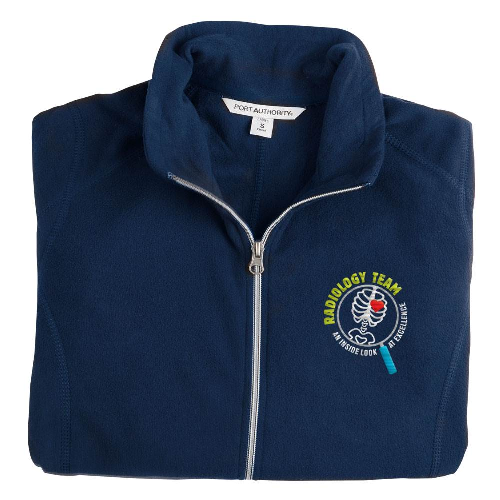 Radiology Team: An Inside Look At Excellence Port Authority® Women's Full-Zip Microfleece Jacket - Personalization Available