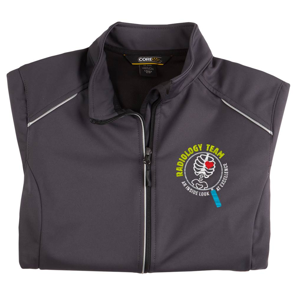 Radiology Team: An Inside Look At Excellence Women's Core 365® Three-Layer Knit Full-Zip Jacket - Personalization Available