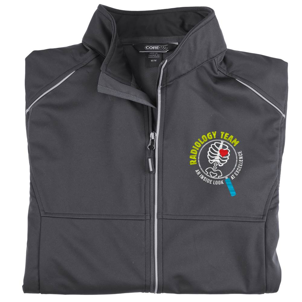Radiology Team: An Inside Look At Excellence Men's Core 365® Three-Layer Knit Full-Zip Jacket - Personalization Available