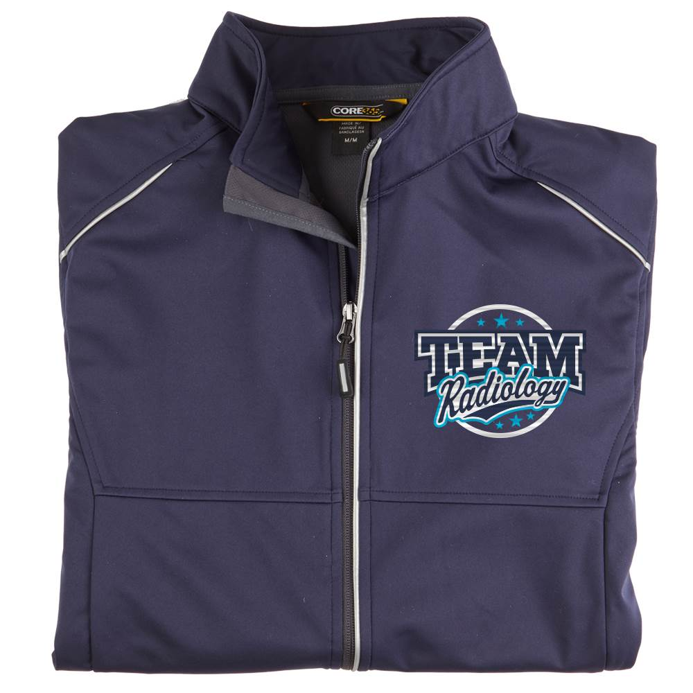 Team Radiology Men's Core 365® Three-Layer Knit Full-Zip Jacket - Personalization Available