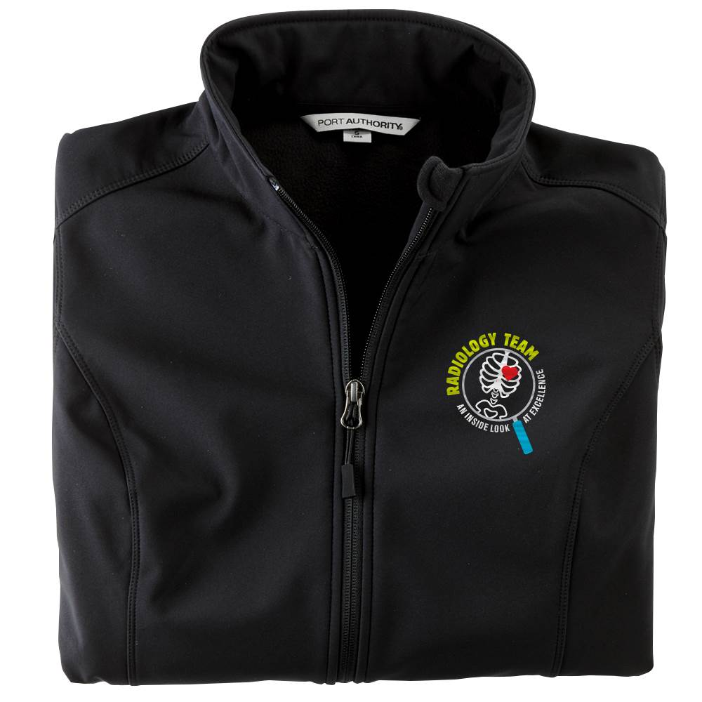Radiology Team: An Inside Look At Excellence Women's Port Authority® Core Soft Shell Jacket - Personalization Optional