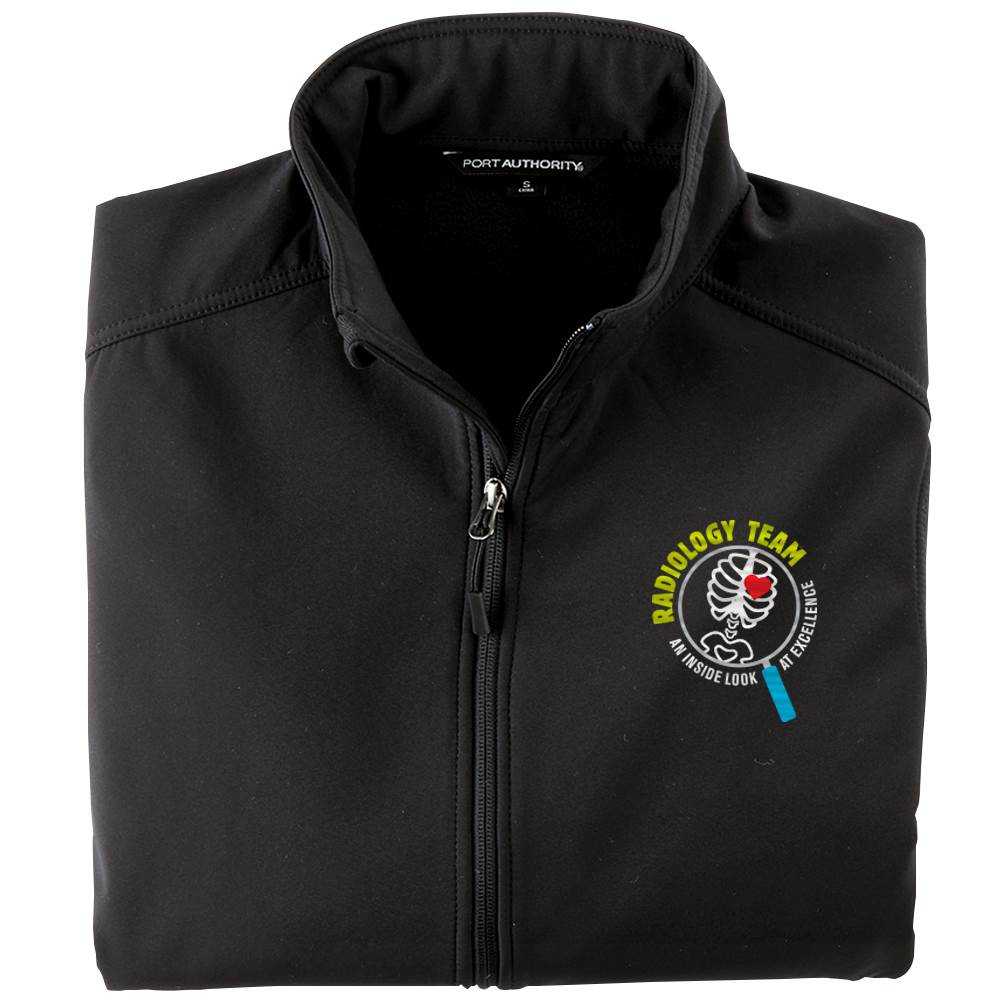 Radiology Team: An Inside Look At Excellence Men's Port Authority® Core Soft Shell Jacket - Personalization Available