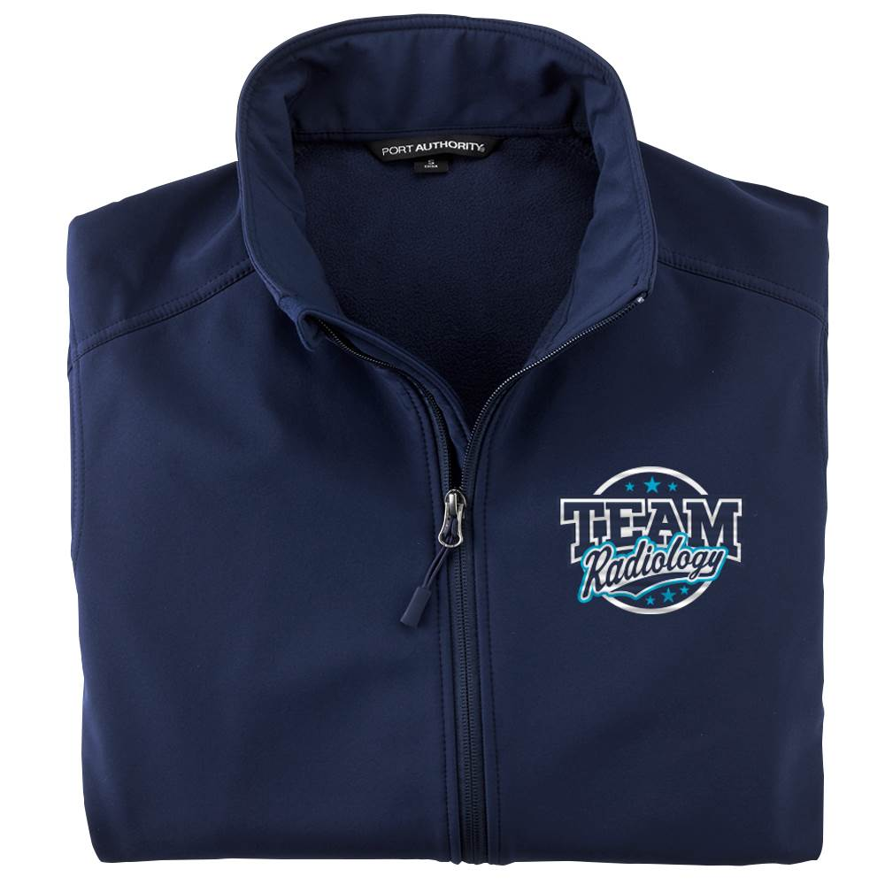 Team Radiology Men's Port Authority® Core Soft Shell Jacket - Personalization Available