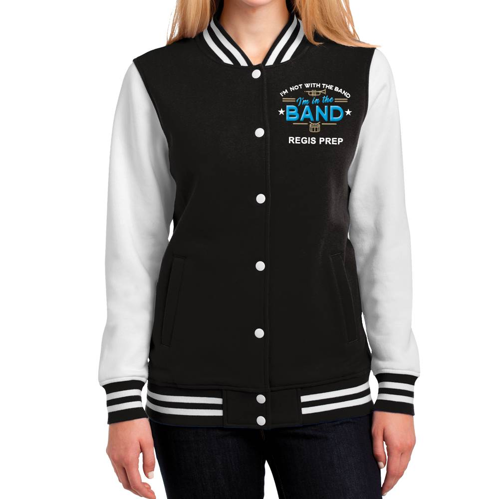 Sport-Tek Women's Fleece Letterman Jacket - Personalization Available