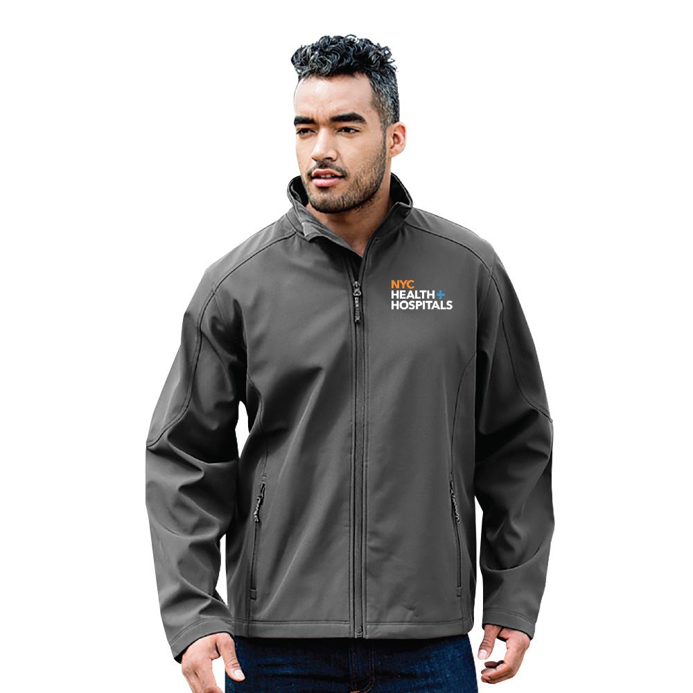 Fossa Apparel® Men's Nexus Soft Shell Jacket - Embroidered Personalization Available