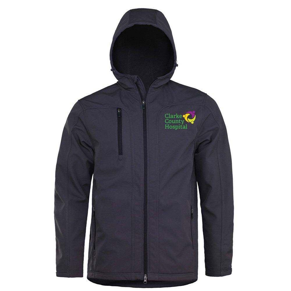 Fossa Apparel Taiga Honeycomb-Shell Hooded Jacket - Personalization Available