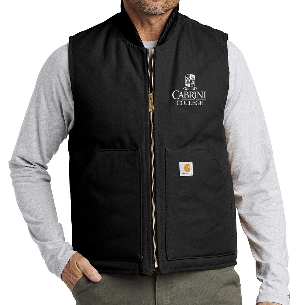 Men's Carhartt® Duck Vest - Personalization Available