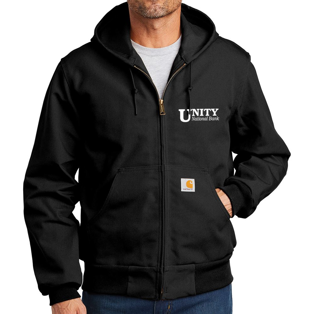 Mens-Carhartt® Thermal-Lined Duck Active Jacket - Personalization Available
