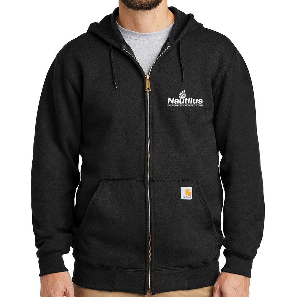 Men's Carhartt® Midweight Hooded Zip-Front Sweatshirt - Personalization Available