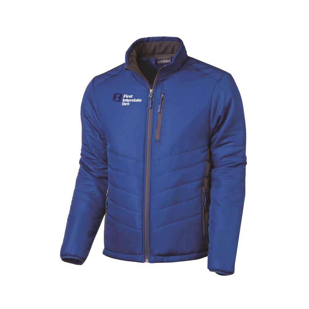Fossa Apparel® Men's Stratus Puffer Jacket - Embroidered Personalization Available