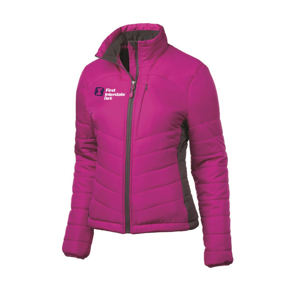 Fossa Apparel® Women's Stratus Puffer Jacket - Embroidered Personalization Available