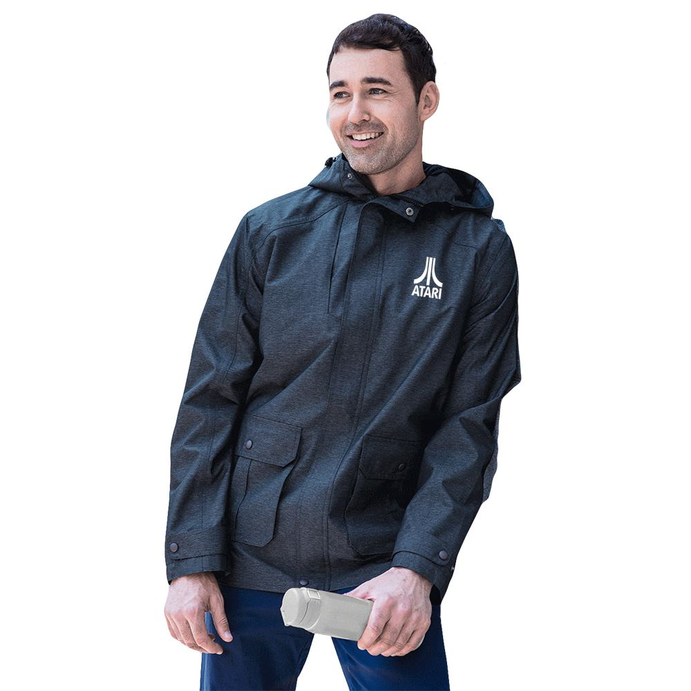 Fossa Apparel Voyager Parka Rain Jacket - Personalization Available