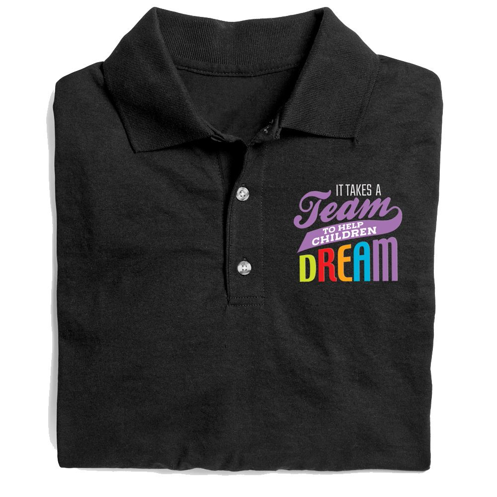 It Takes A Team To Help Children Dream Gildan® DryBlend Jersey Polo - Personalization Available