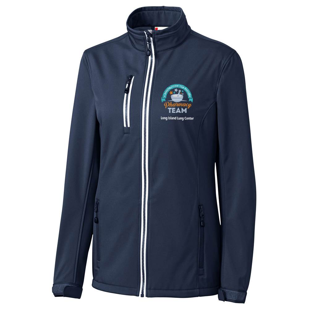 TEAM WEAR Clique® by Cutter & Buck® Women's Telemark Soft Shell Jacket - Personalization Available