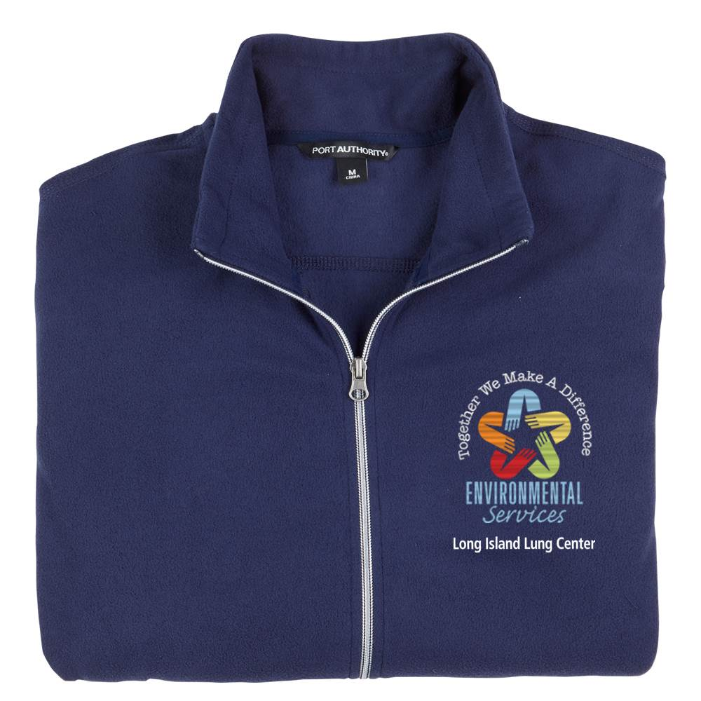 TEAM WEAR Port Authority® Men's Full Zip Microfleece Jacket - Personalization Available