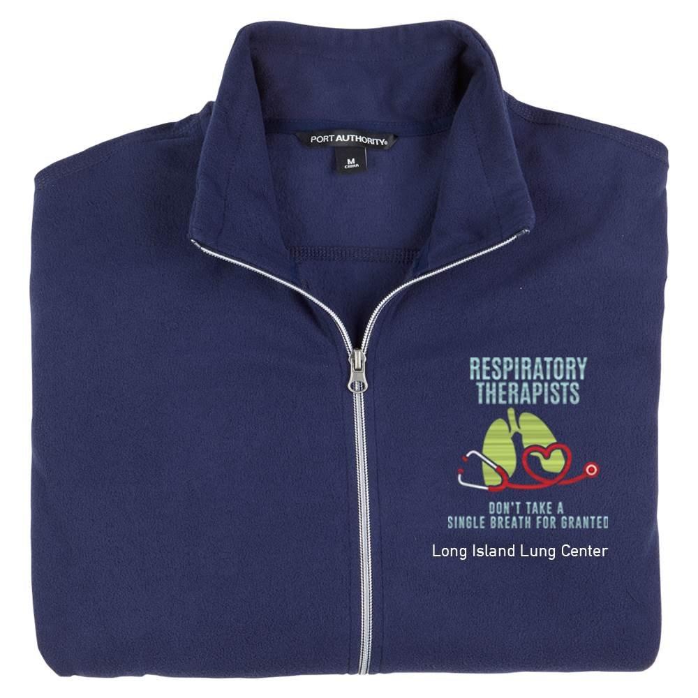 TEAM WEAR Port Authority® Women's Full-Zip Microfleece Jacket - Personalization Available