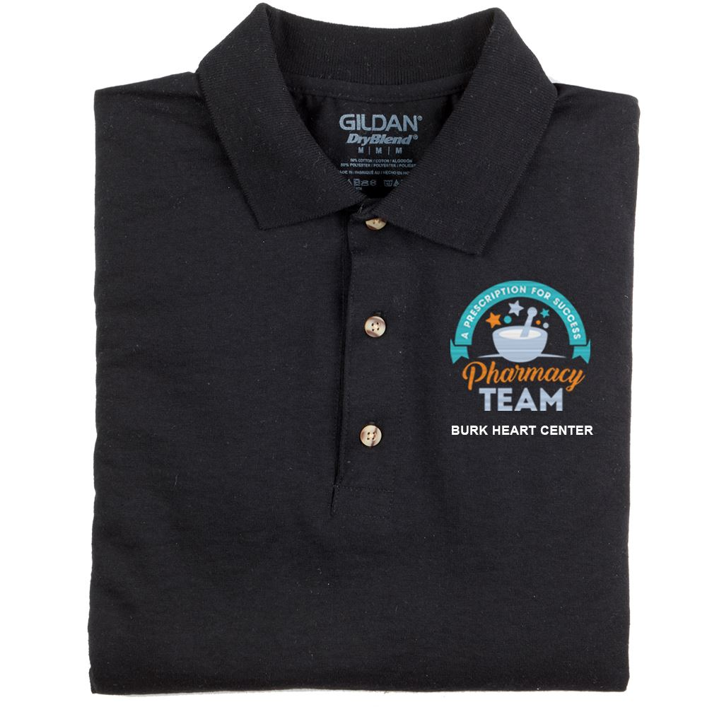 Team Wear Gildan® Dryblend 50/50 Jersey Polo - Embroidery Personalization Available